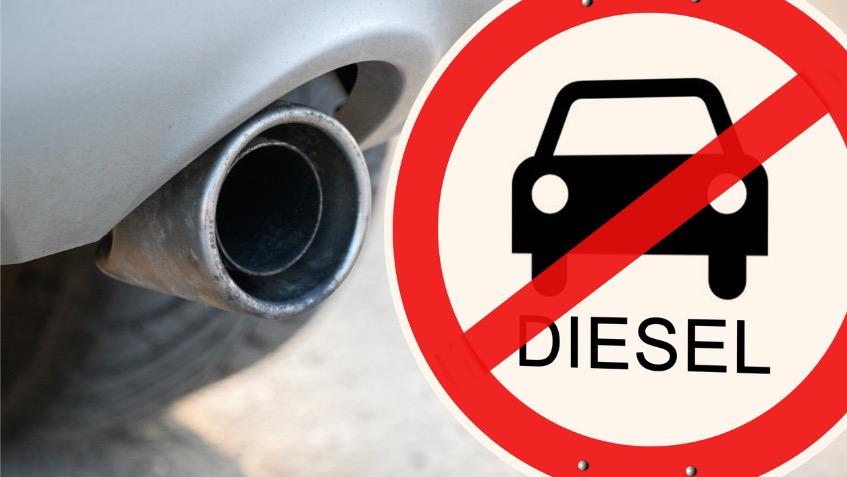 interdiction de circuler pour les voitures diesel : un diesel d